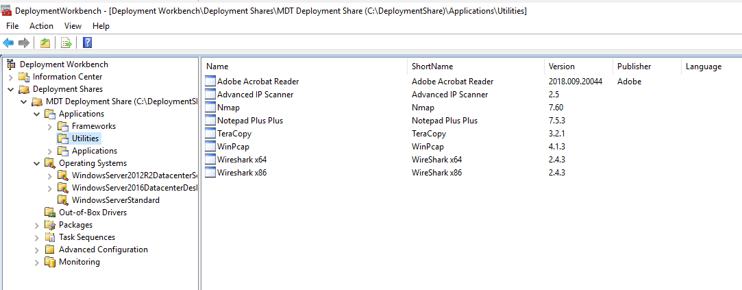 Help actualizing \SampleScripts\Scenarios\MDT Lab 1, MDT