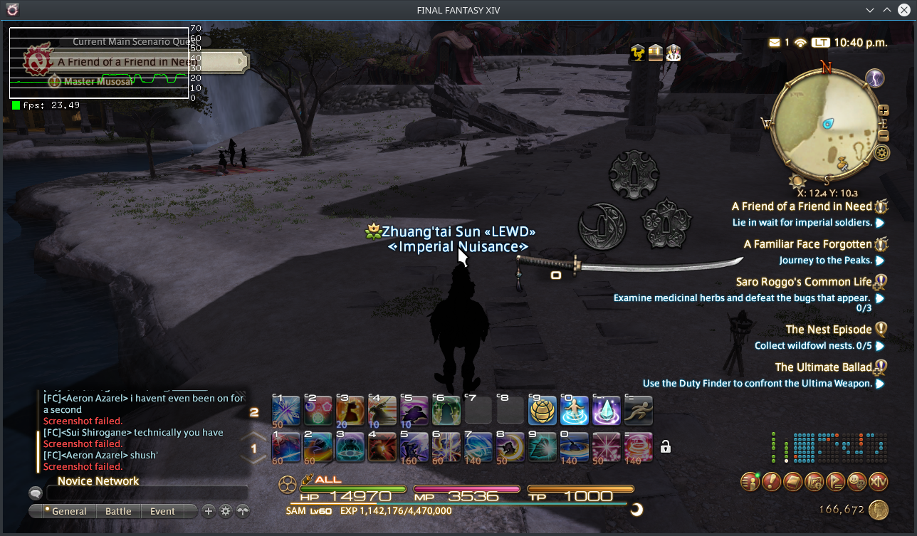 Final Fantasy XIV Fails to load after character select: 006a