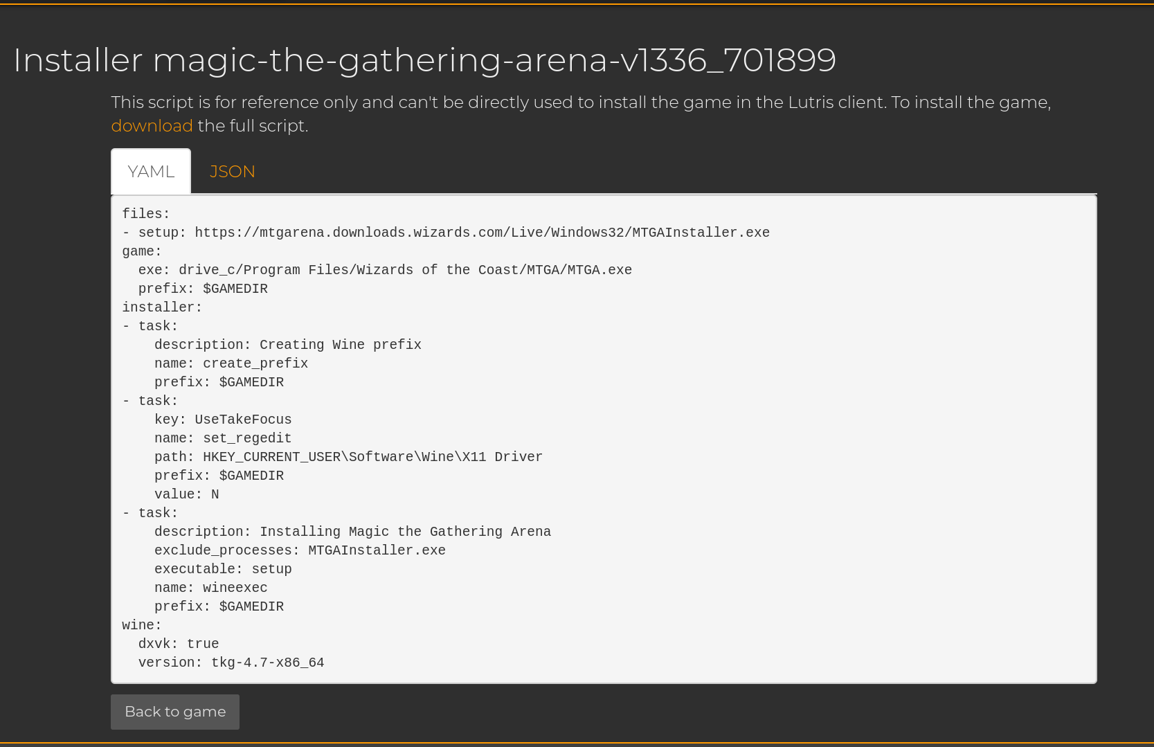 REQUEST: Magic: The Gathering Arena