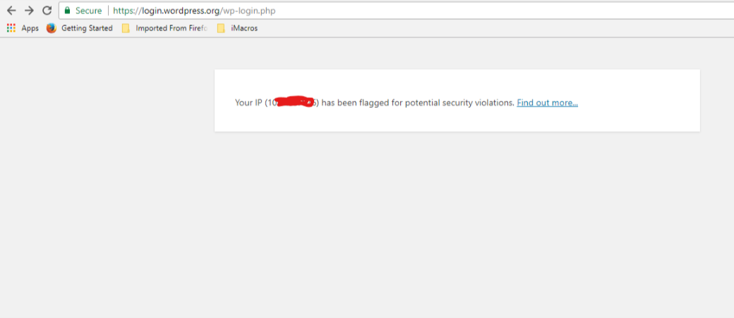 Why i m seeing this for every wp-login php request