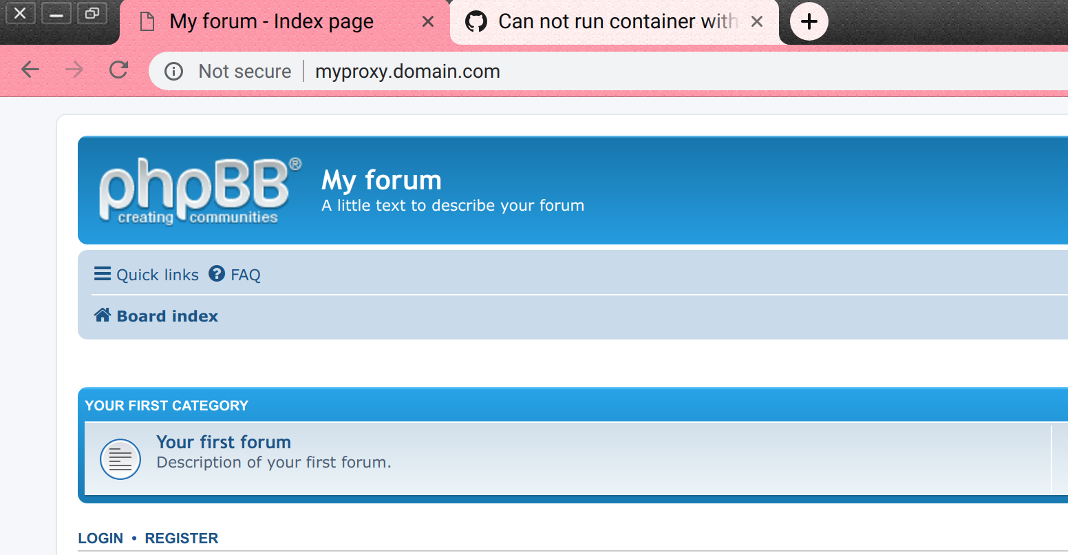 Can not run container with nginx-proxy · Issue #51 · bitnami
