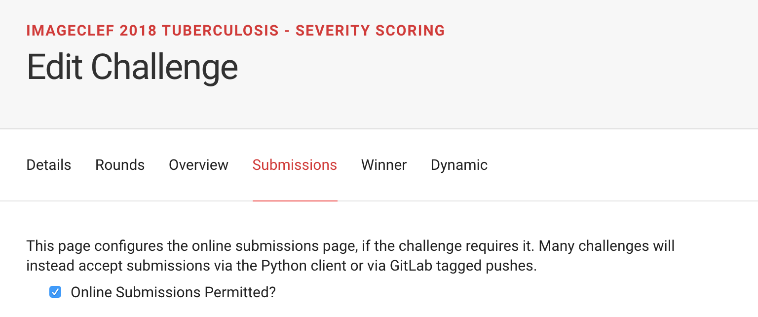 Allow post-challenge submission via webpage · Issue #785
