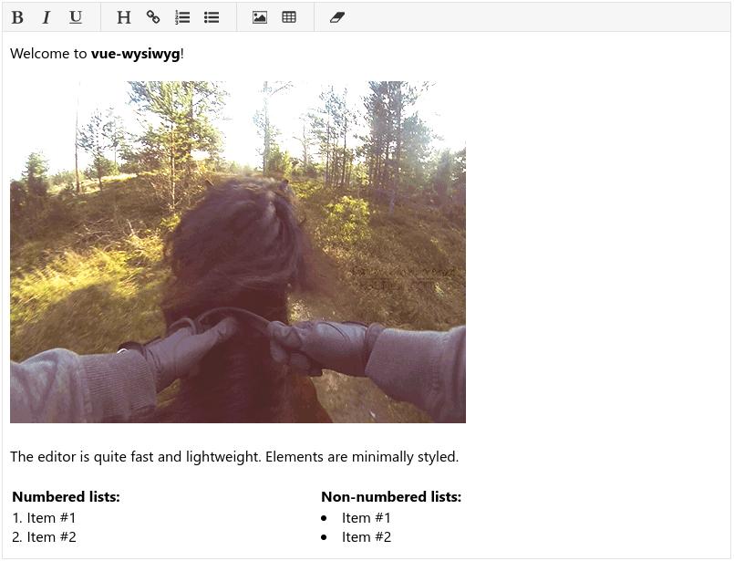 GitHub - chmln/vue-wysiwyg: A lightweight WYSIWYG HTML