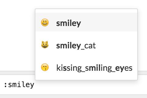 The Lounge - Emoji fuzzy-matching