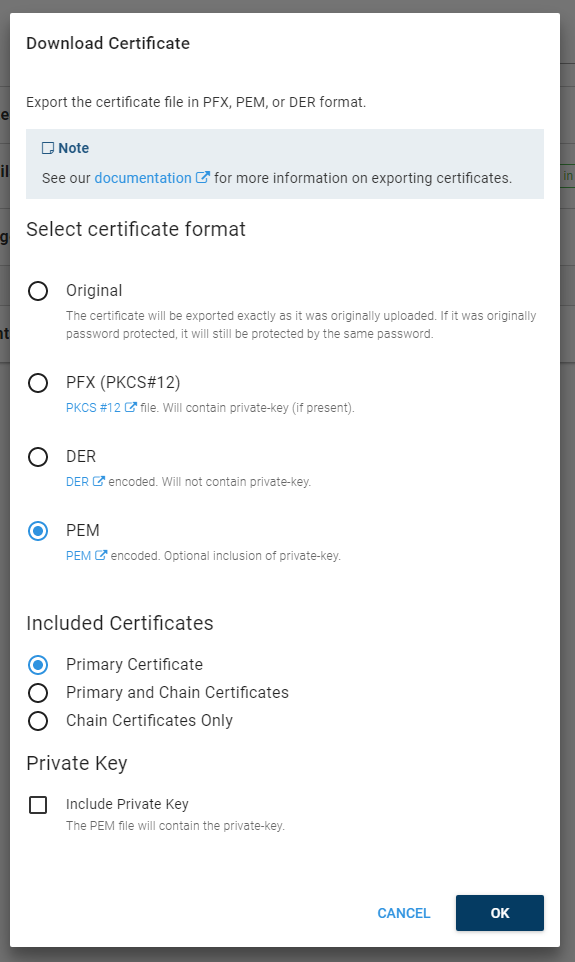 Pem Certificate Chains Issue 4461 Octopusdeployissues Github