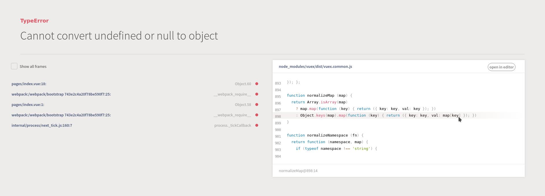 vuex mapGetters not working  · Issue #2526 · nuxt/nuxt js · GitHub