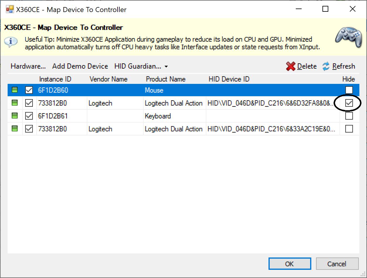 Beta Testing: X360CE 4 8 x x Alpha · Issue #818 · x360ce