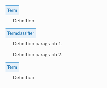 Definition list display different in Sphinx 2 1 · Issue #800