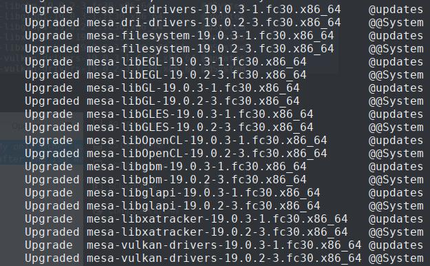 Fresh Fedora 30 installation error (Nvidia specific) · Issue
