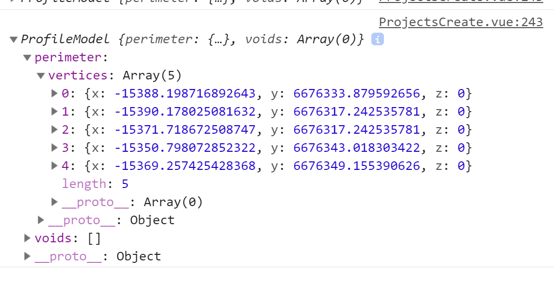 Elements objects cannot be serialised to JSON with standard