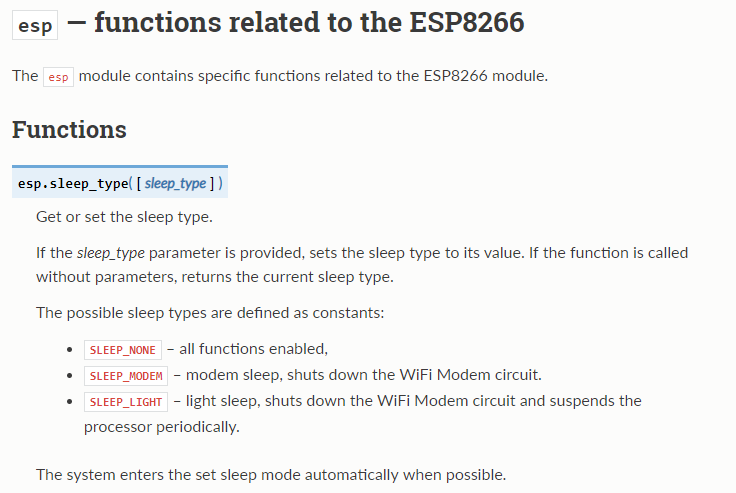 esp8266 - feature request, disable wifi radio · Issue #4295