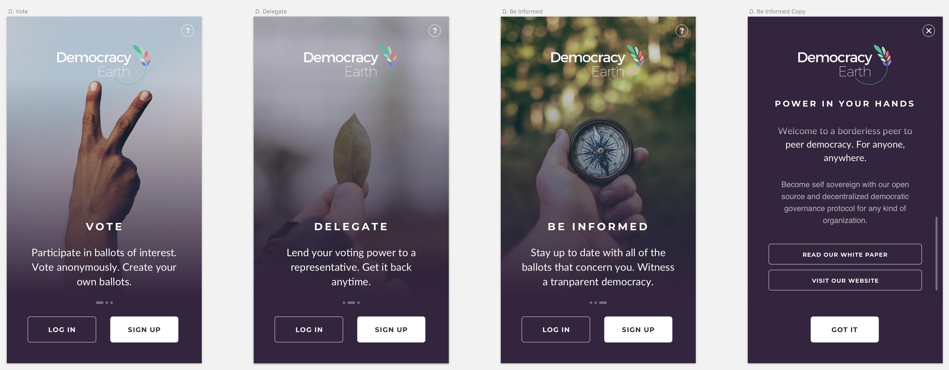 DemocracyEarth - Bountysource