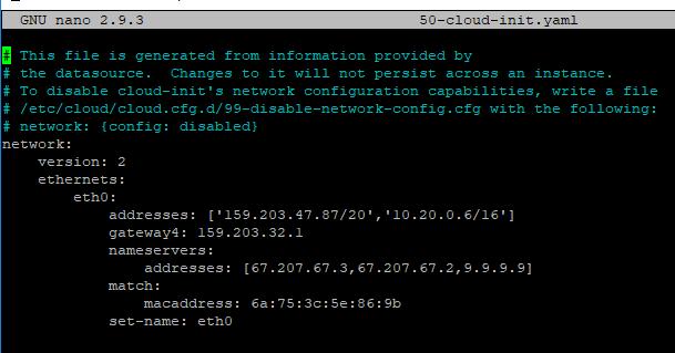 Netplan ubuntu 18 04
