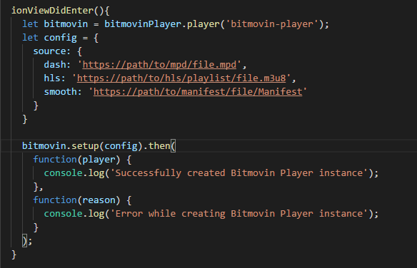 player is not a function · Issue #157 · bitmovin/bitmovin