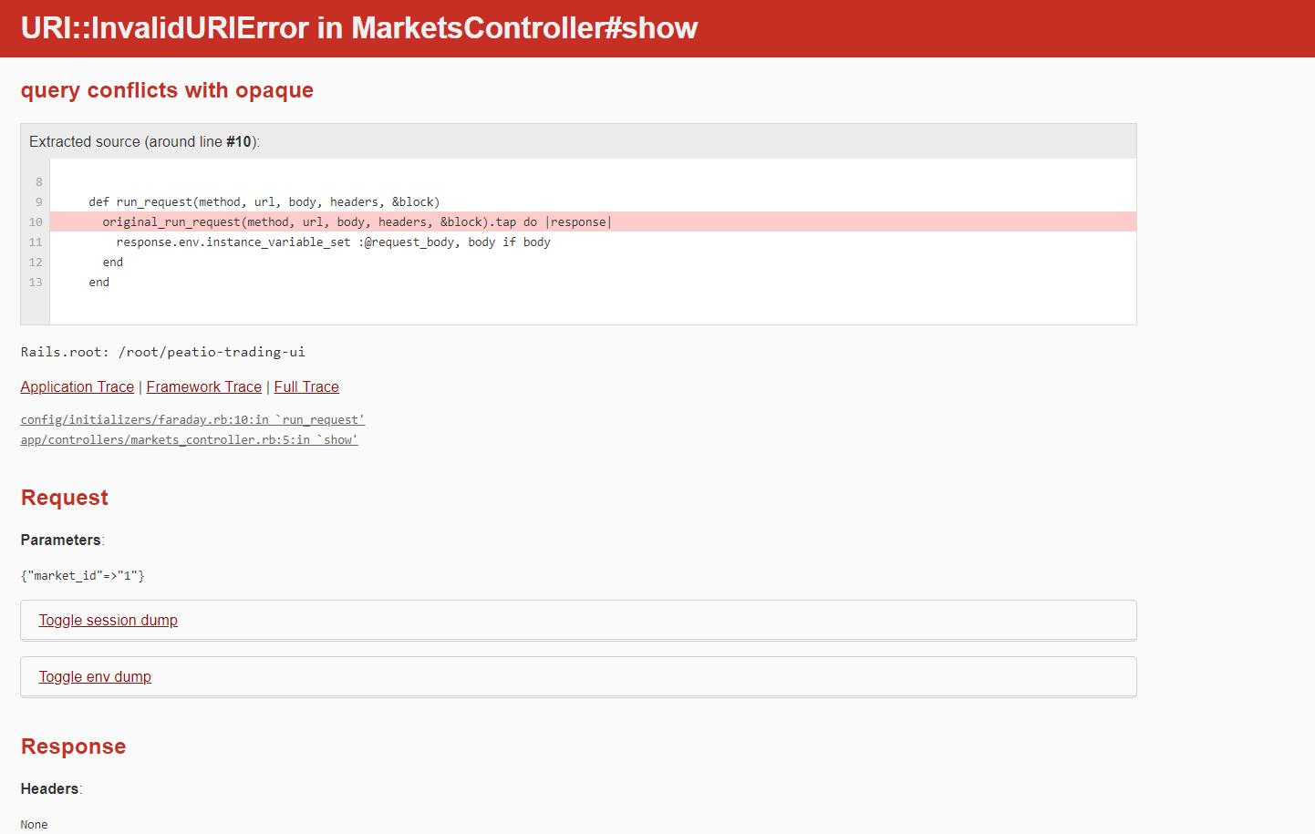 URI::InvalidURIError in MarketsController#show · Issue #14