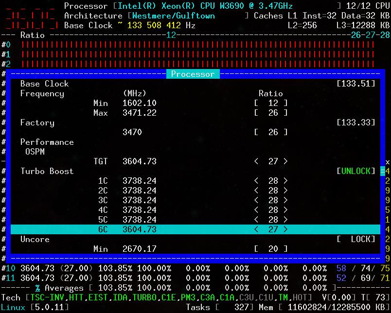x86_64 Overclocking