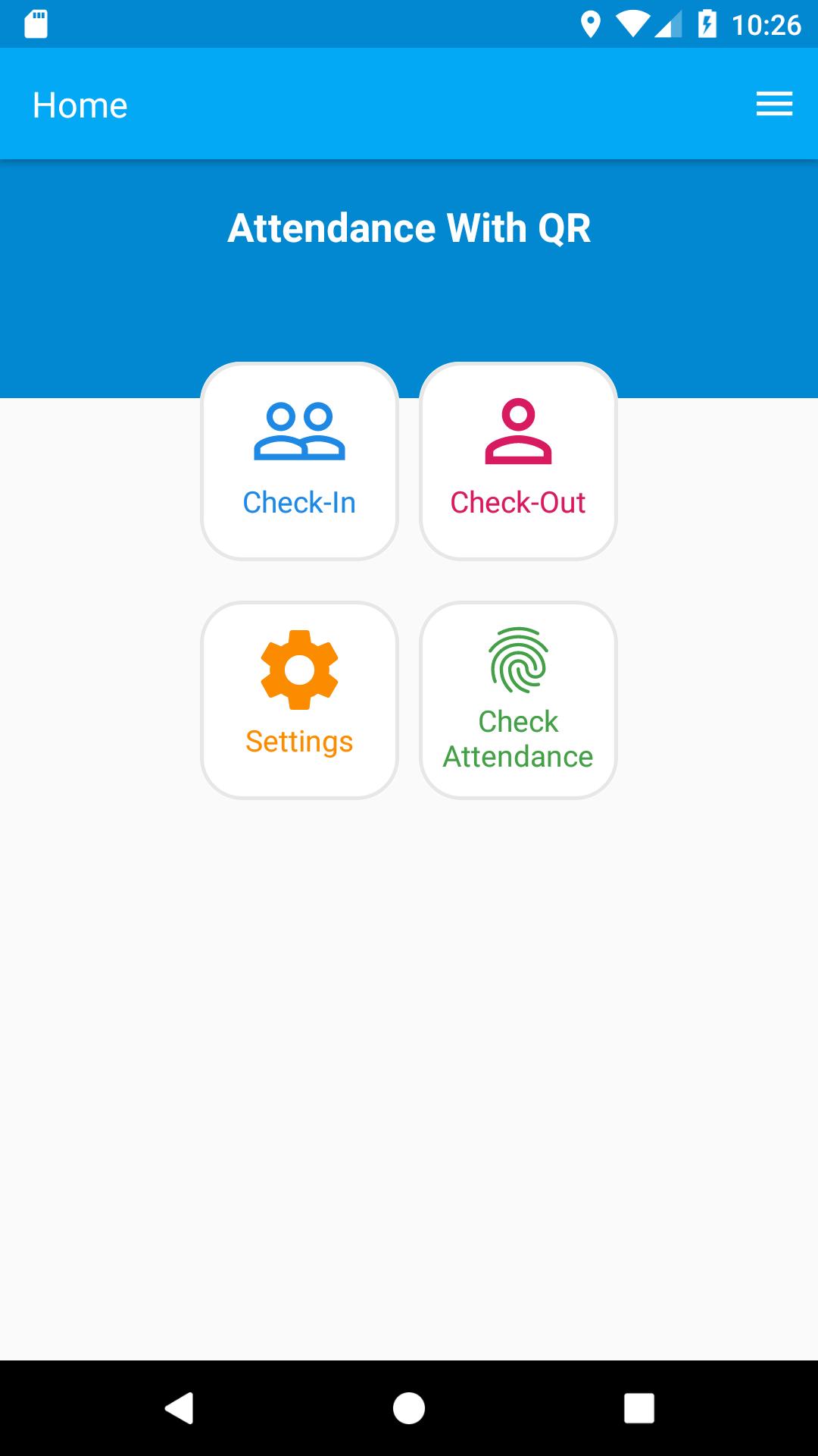 Attendance-login-system