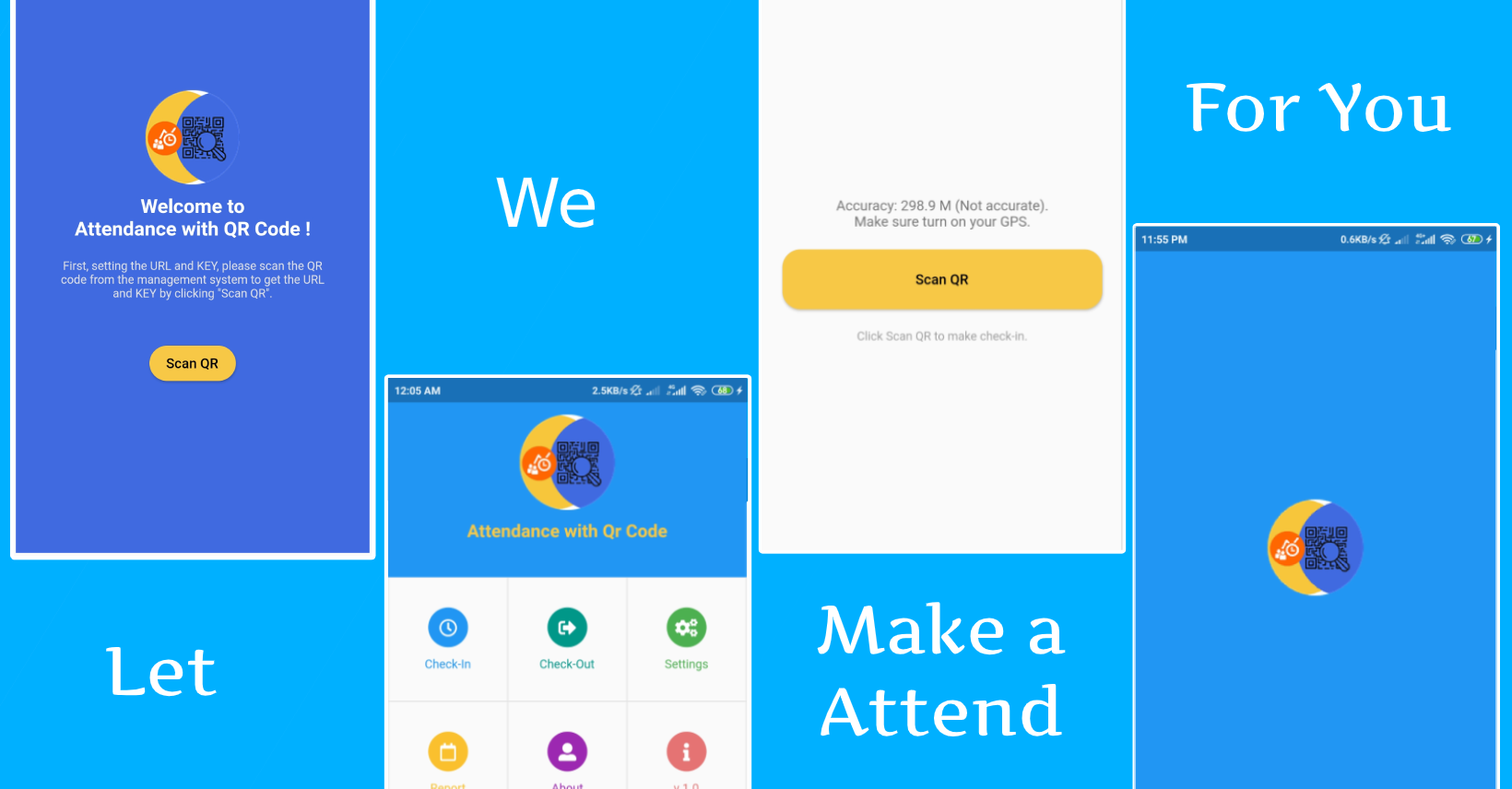 attendace with qr Android + wordpress plugin