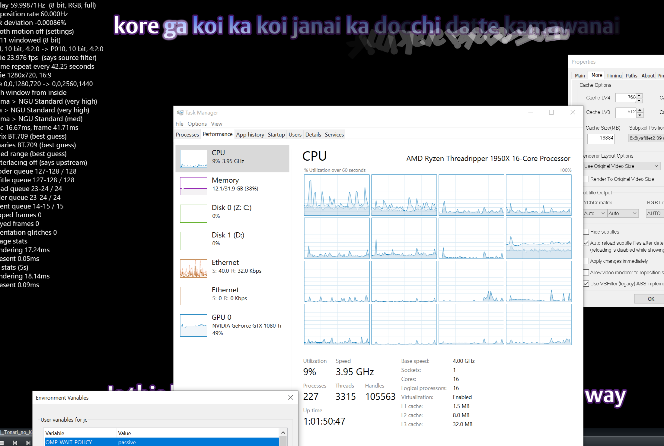 VS2019, Parallelization, SSE2 for FillAlphaMashBody on x64 and other