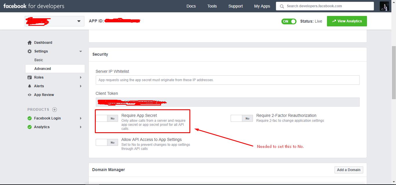 Facebook login not working  Fatal error: Uncaught Parse