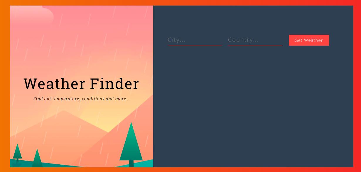 GitHub - yahilmadakiya/react-weather-app