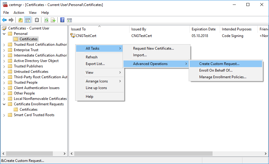 How To Generate Self Signed Code Signing Certificate Issue 1