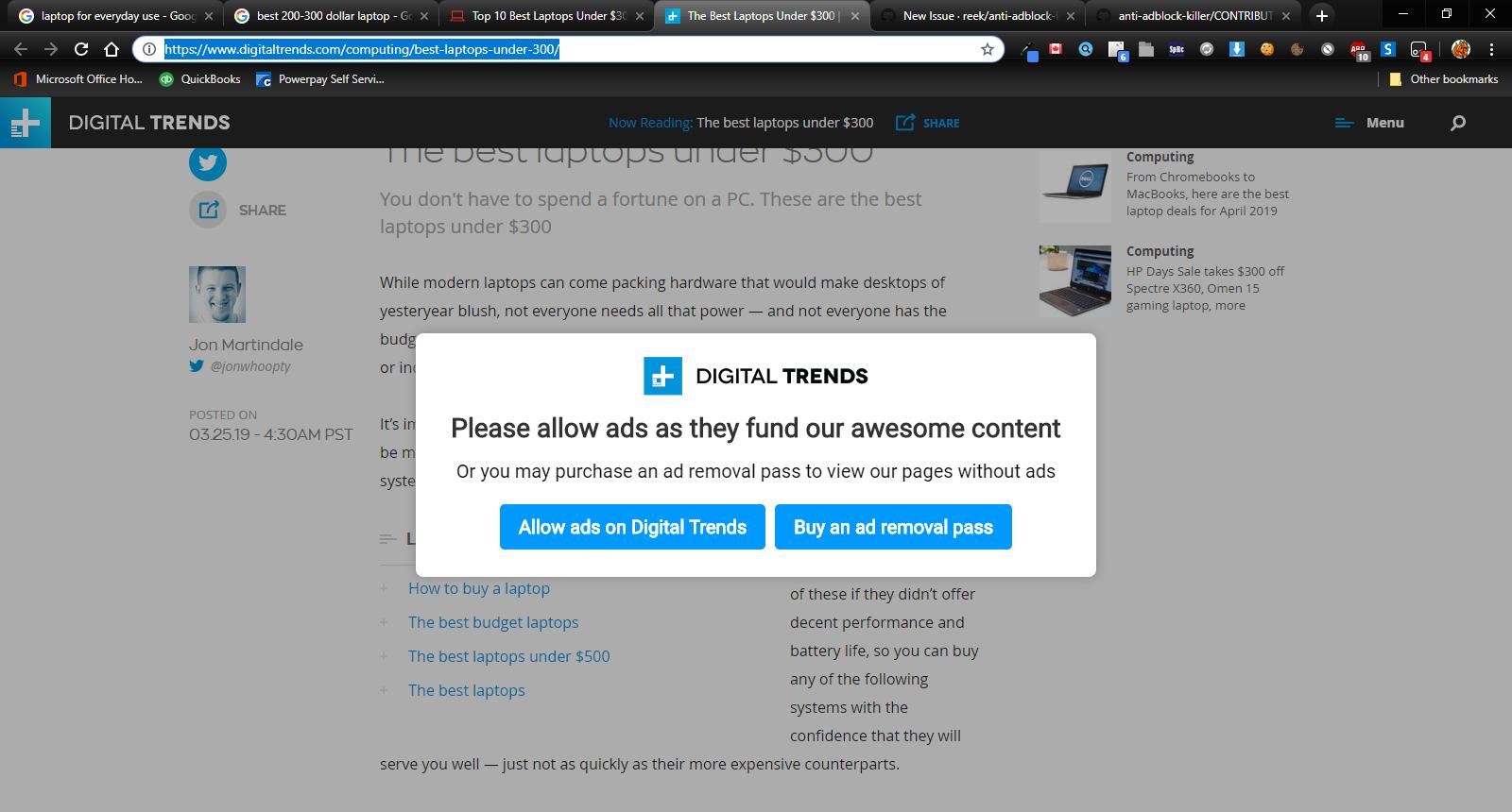 digitaltrends com · Issue #4234 · reek/anti-adblock-killer · GitHub