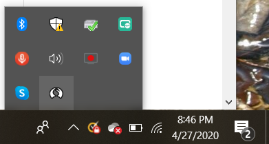 In the lower right hand corner of your screen, in the show hidden icons arrow, you can check to see if talon is up and running by looking for the talon icon