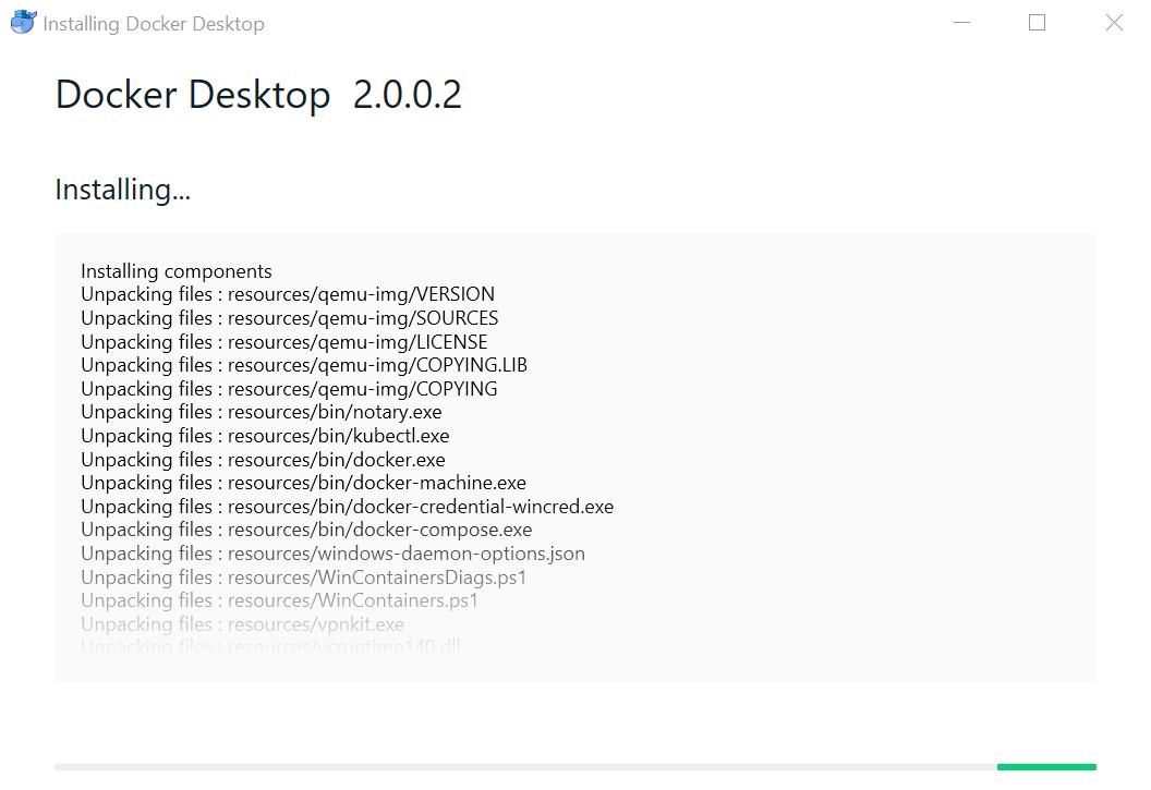 Docker for Windows 2 0 0 2 upgrade hangs · Issue #3228 · docker/for