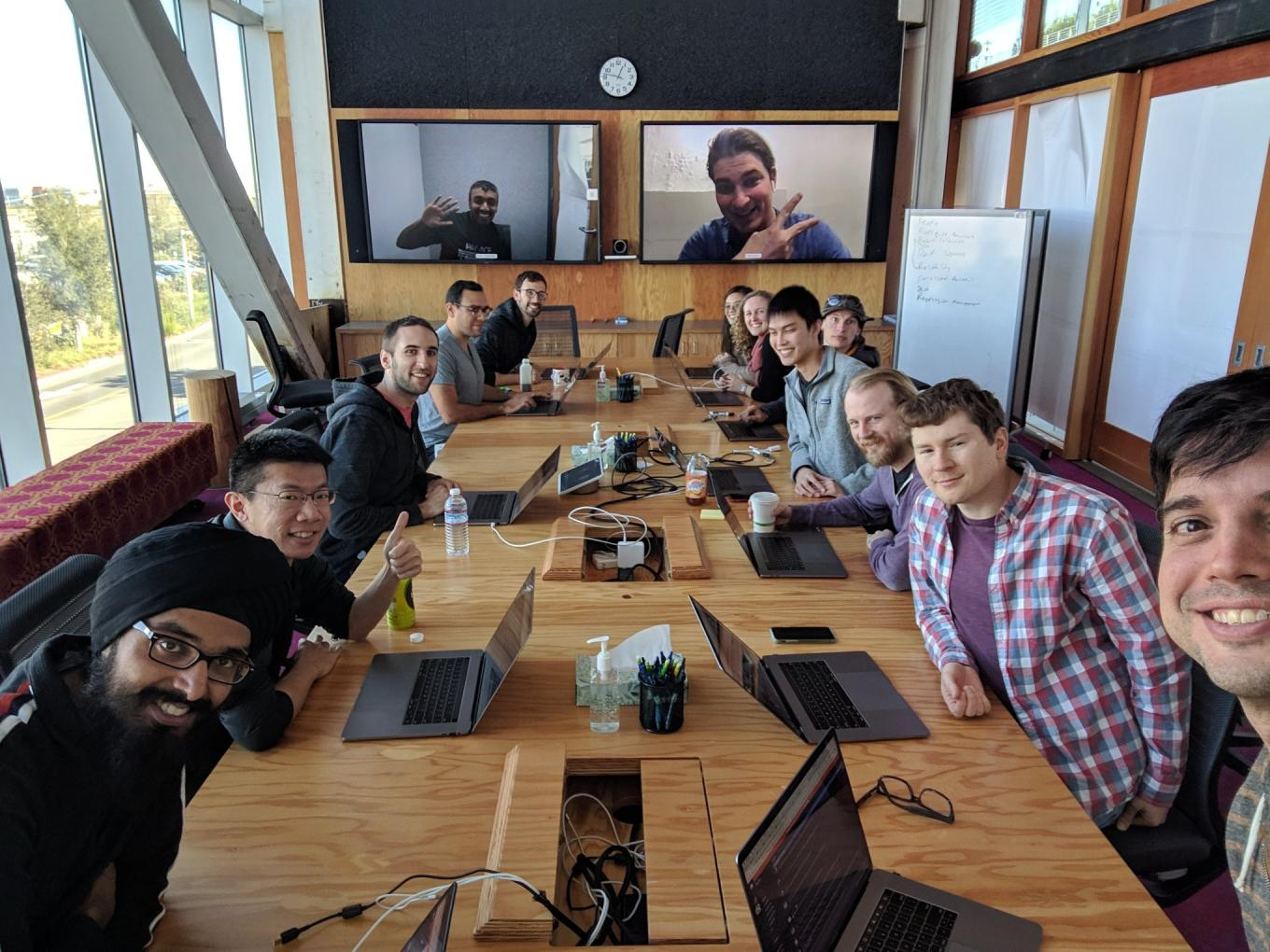The entire React Native Core Team in one room answering questions