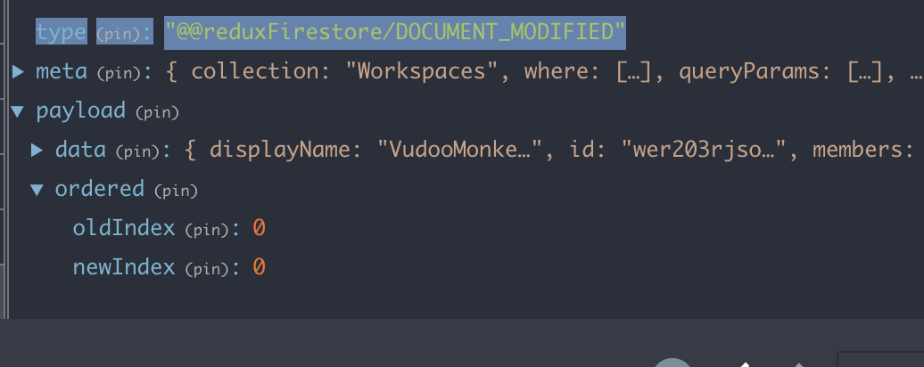 DOCUMENT_MODIFIED: Duplication of object in ordered array