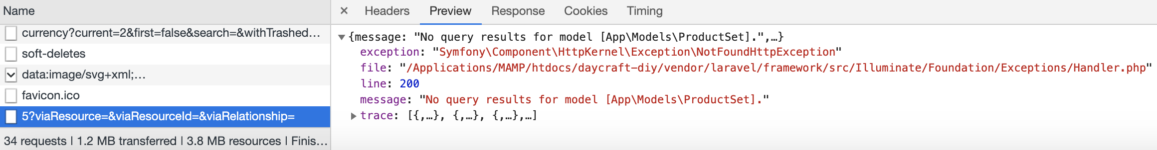 No query results for model [App\Models\   ] · Issue #44 · yassipad