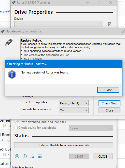 Built-in updater doesn't work to update from 3 3 to 3 4