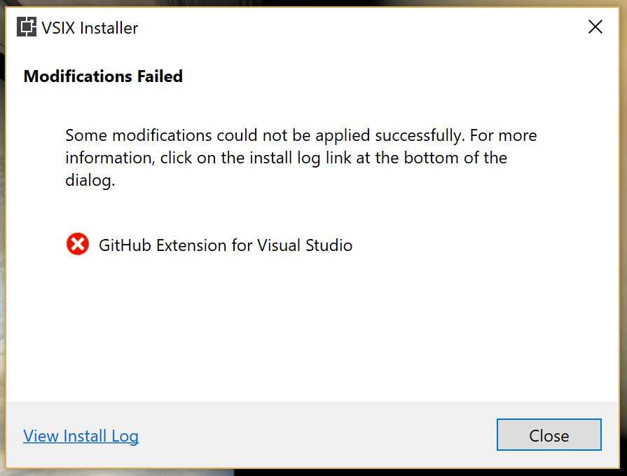 Can't uninstall extension from Visual Studio 2017 · Issue