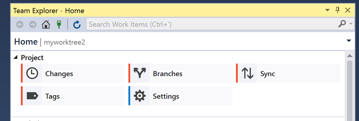 Add support for Git Worktrees in VS 2017 · Issue #1652