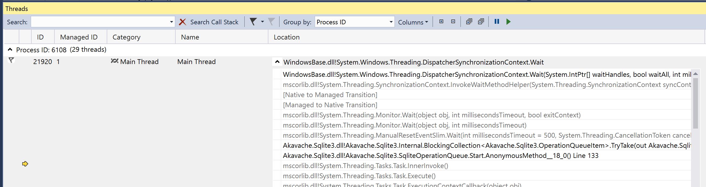 system windows threading dispatcher