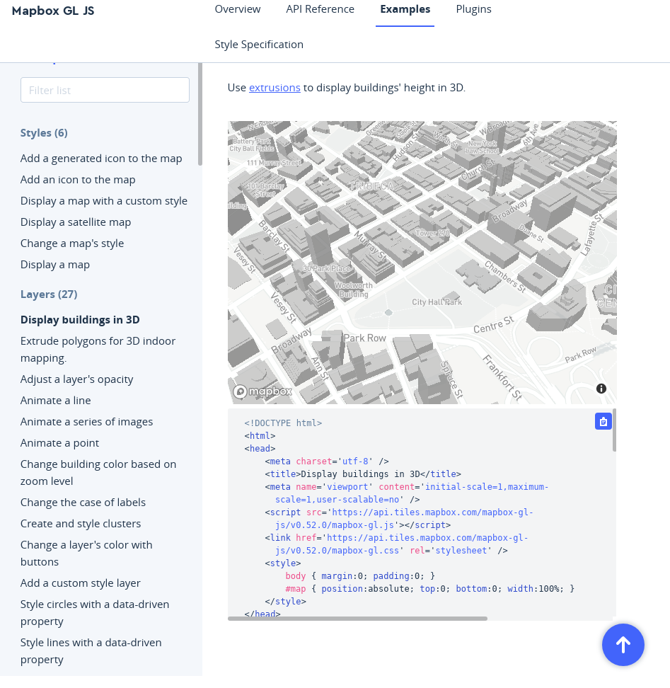 enlarge code section in examples · Issue #7856 · mapbox/mapbox-gl-js