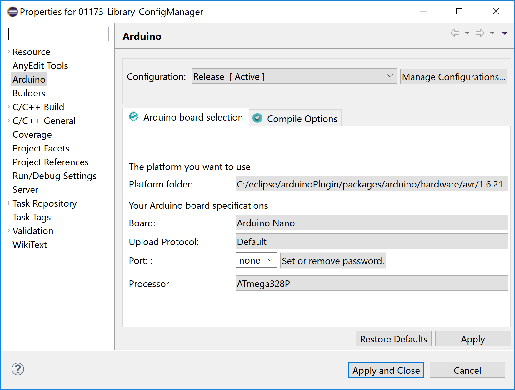 avrdude options wrong · Issue #957 · Sloeber/arduino-eclipse-plugin