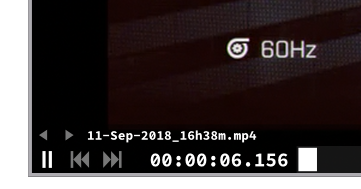 how to get mpv to display thousand of a second on a video ? · Issue