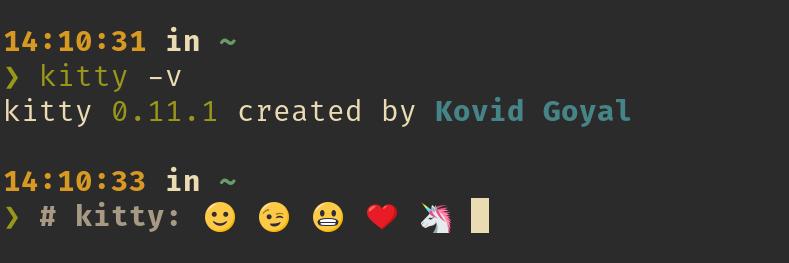 Emojis on the terminal · Issue #73 · kovidgoyal/kitty · GitHub
