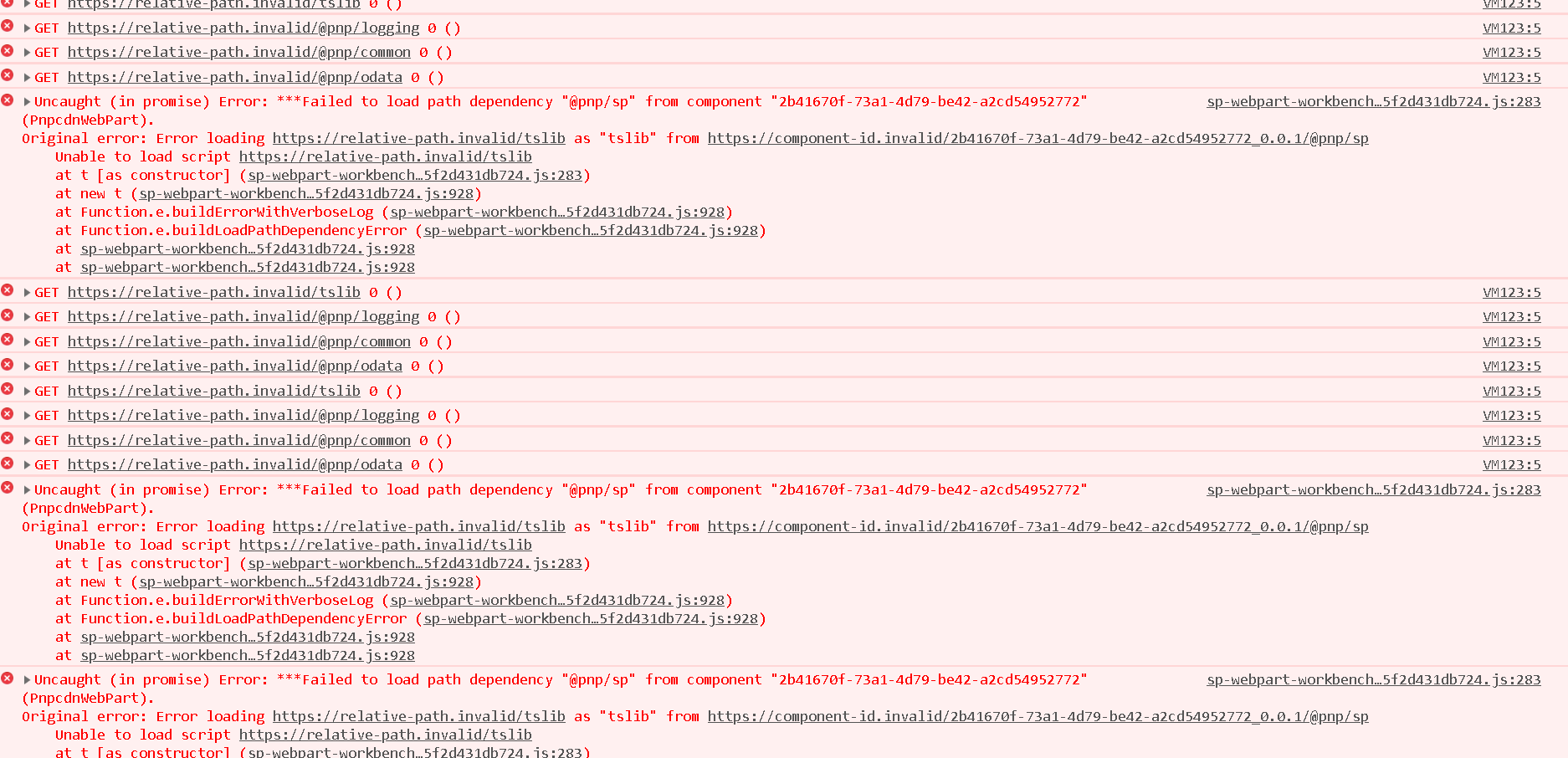 Refering external JavaScript libraries from CDN not working for spfx