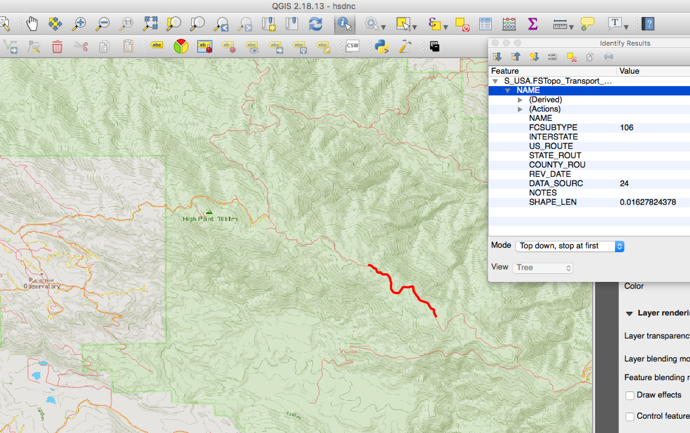 Differences of Trails between US Topo PDF FSTopo PDF and FSTopo