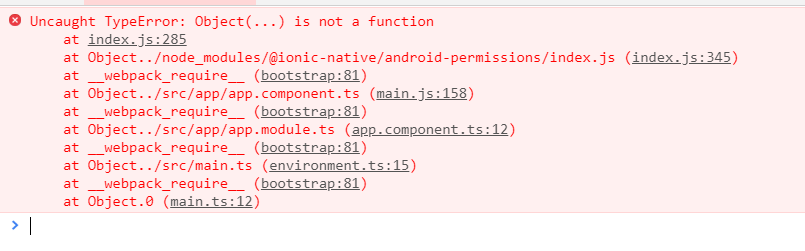 Ionic V4 produced object is not a function with GooglePlus