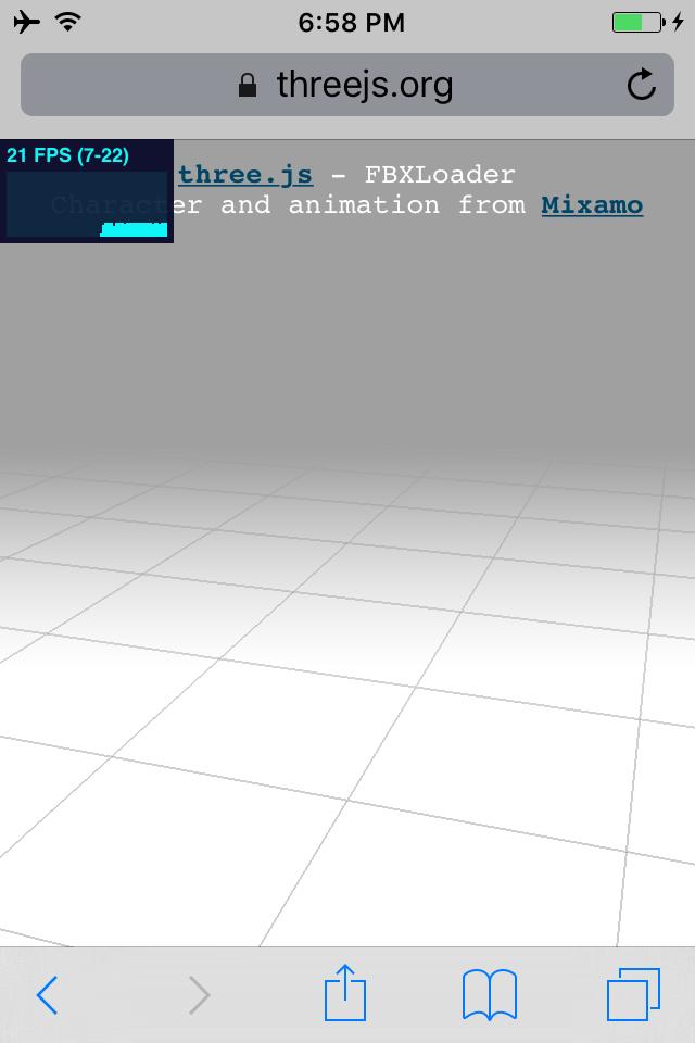 FBX Loader example silently fails on iOS 9 3 (latest for iOS 9