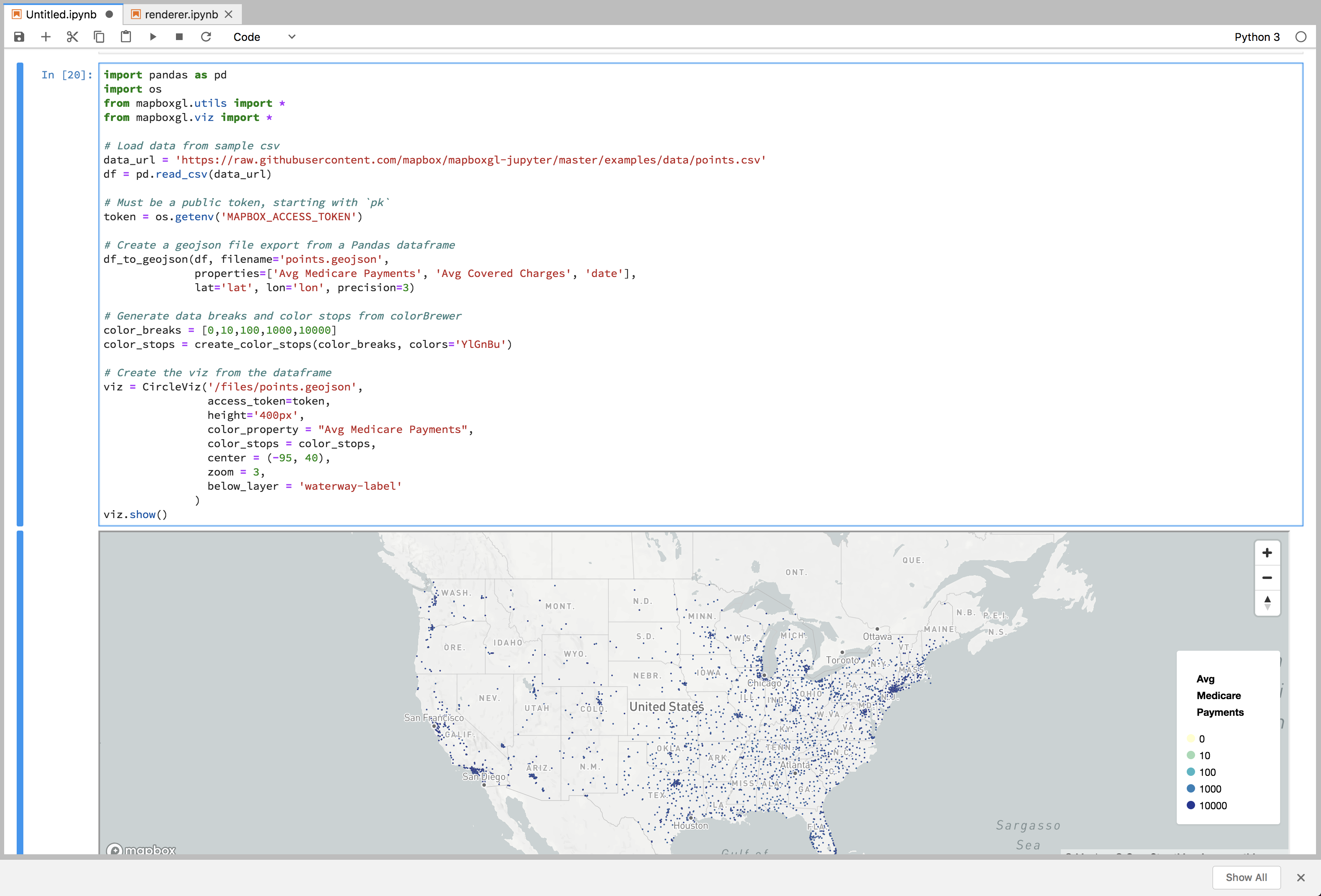 Data does not show in JupyterLab from local geojson file