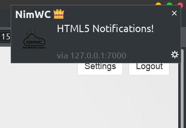 HTML Notification bubble