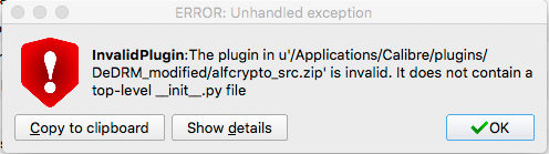 Plugin does not install because