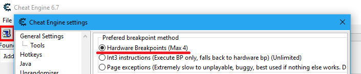 Game crashes on breakpoint hit - New debugger suggestion · Issue