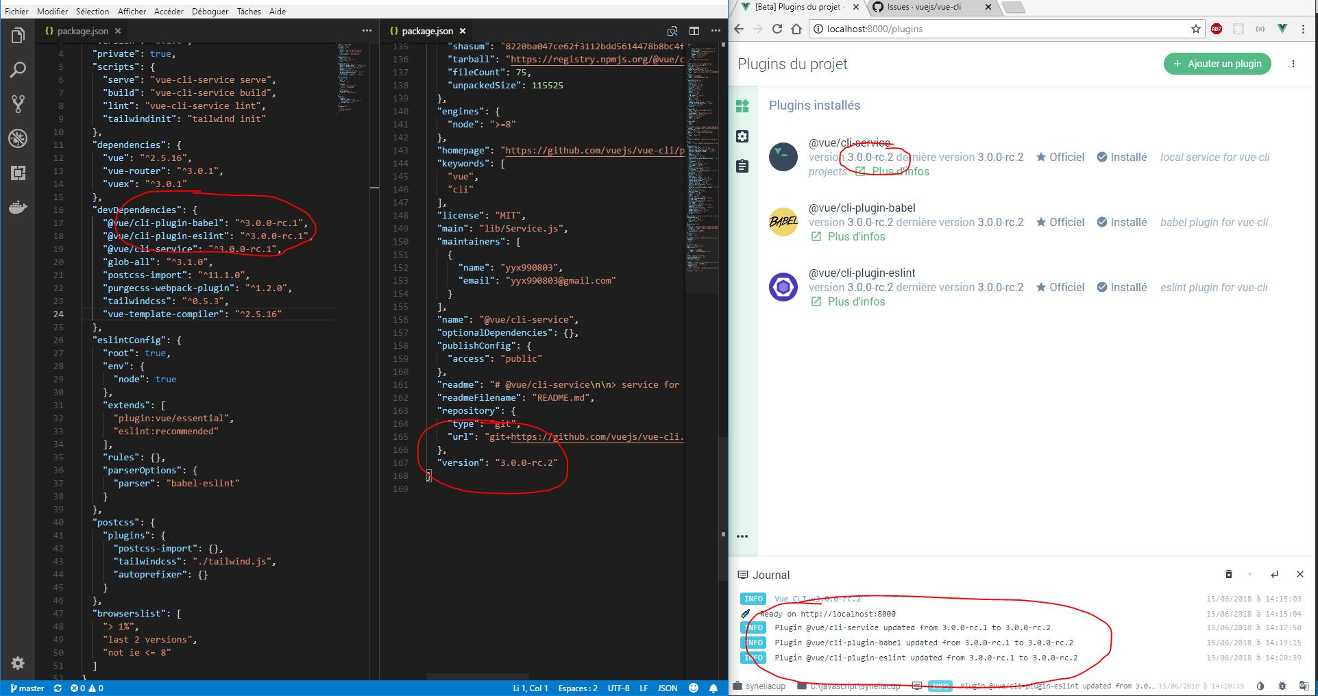 ui] update cli-service package json · Issue #1580 · vuejs